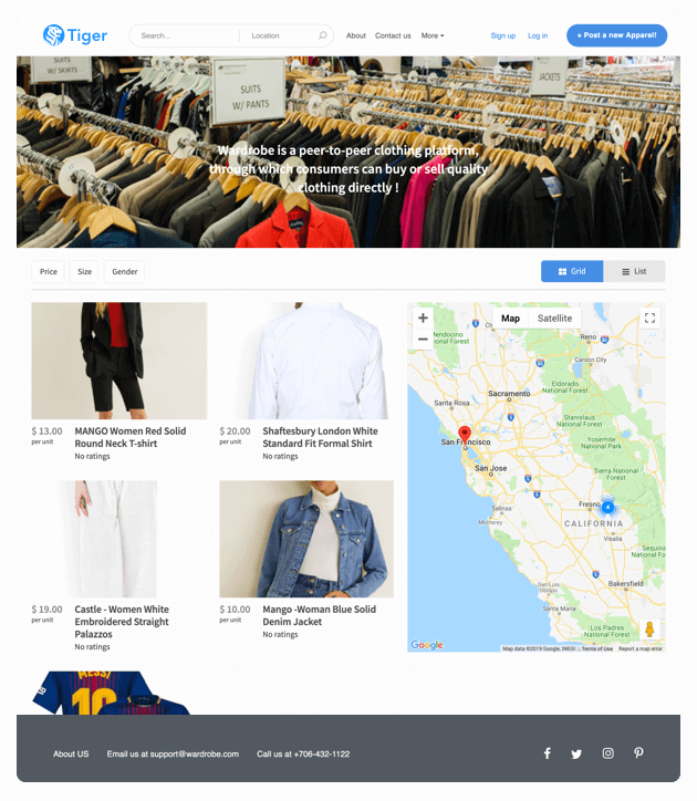 Create Online Marketplace